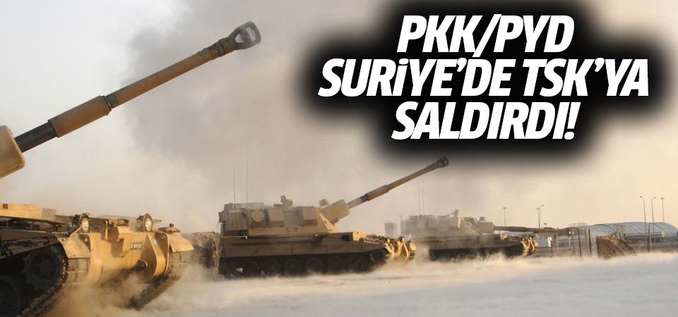 PKK/PYD Suriye'de TSK'ya saldırdı