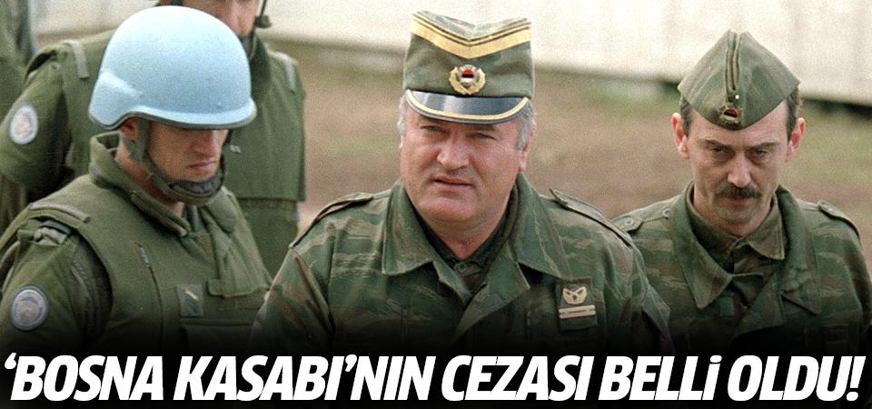 'Bosna kasabı' Mladiç'in cezası belli oldu