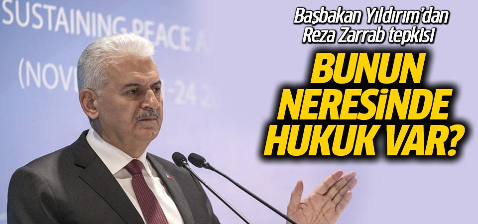 Başbakan Binali Yıldırım'dan Reza Zarrab tepkisi