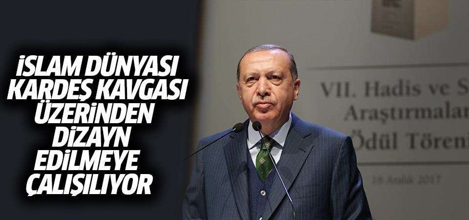Erdoğan: Bir bakıyoruz ki günümüzün Neron'ları yeni bir ateş yakmış