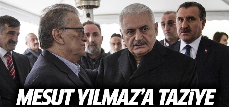 Başbakan Yıldırım'dan Mesut Yılmaz'a taziye ziyareti