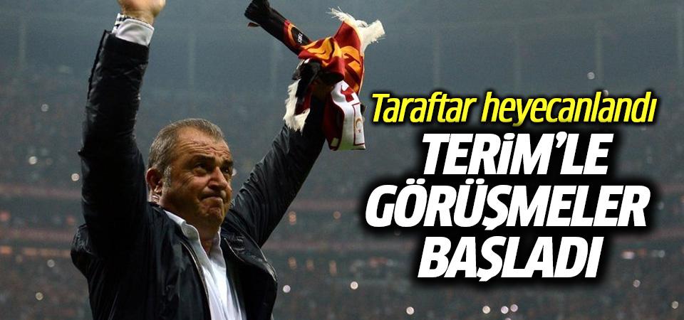 Galatasaray'da Fatih Terim sesleri