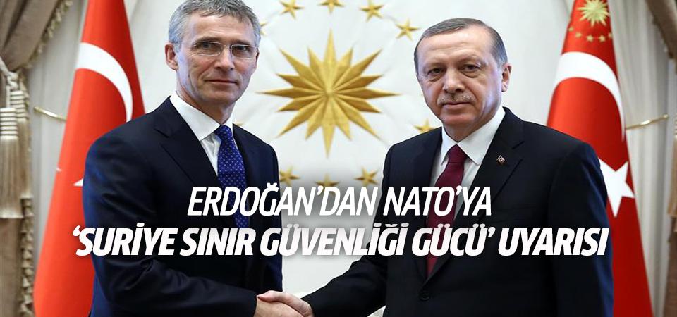 Erdoğan: Türkiye sınırında terör gücü oluşturulmasına seyirci kalamayız