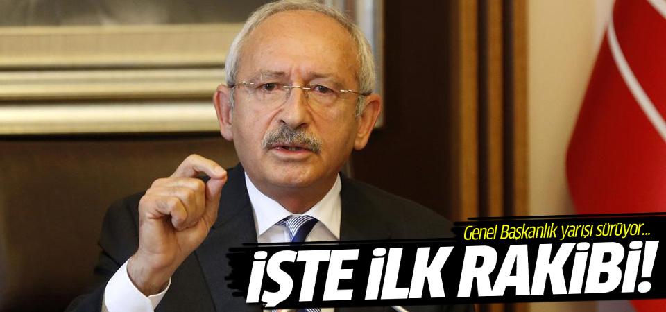Kılıçdaroğlu'nun rakibi belli oldu, adaylığını resmen açıkladı
