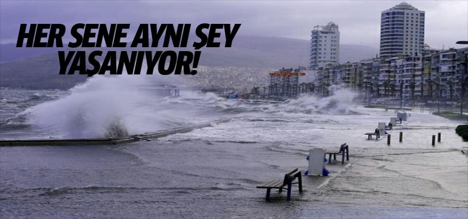 İzmirlilerin çilesi su taşkınları oldu