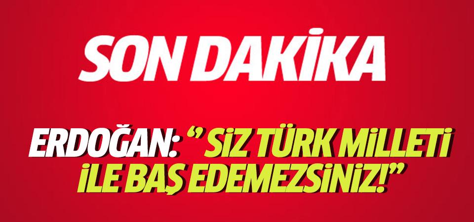 Erdoğan: Durduk durduk durduk, bir gece ansızın vurduk