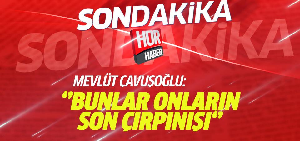Mevlüt Çavuşoğlu: Fransa rejim ihlalleri için BMGK'yı toplantıya çağırdı