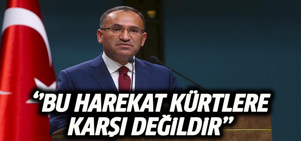Başbakan Yardımcısı Bozdağ'dan 'Zeytin Dalı Harekatı' açıklaması