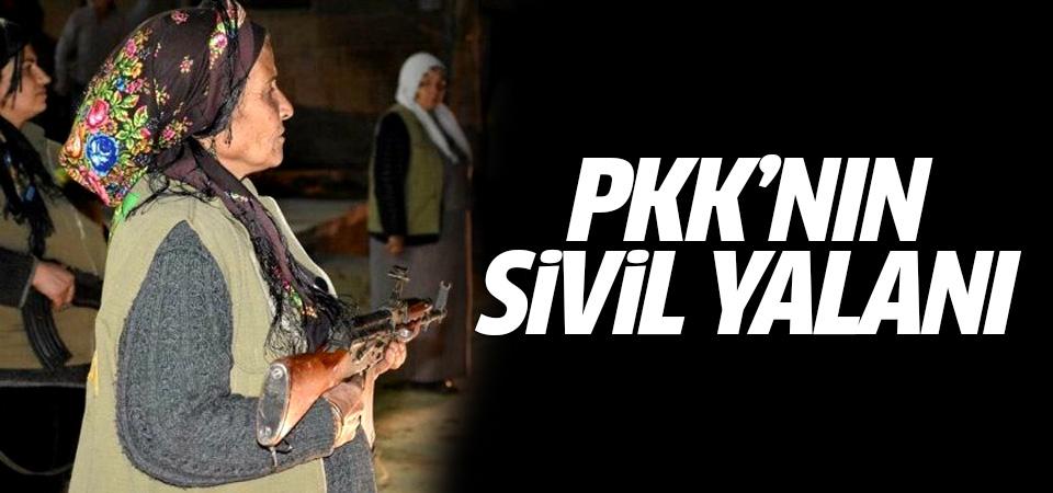 PKK/PYD'nin sivil yalanı