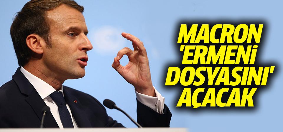 Macron 'Ermeni dosyasını' açacak