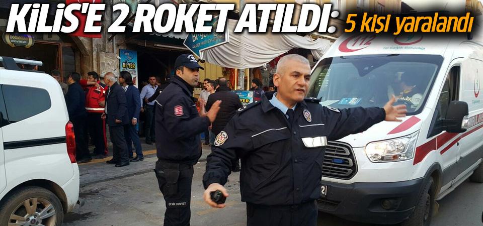 Kilis'e roket atıldı, restorana isabet etti: 5 yaralı