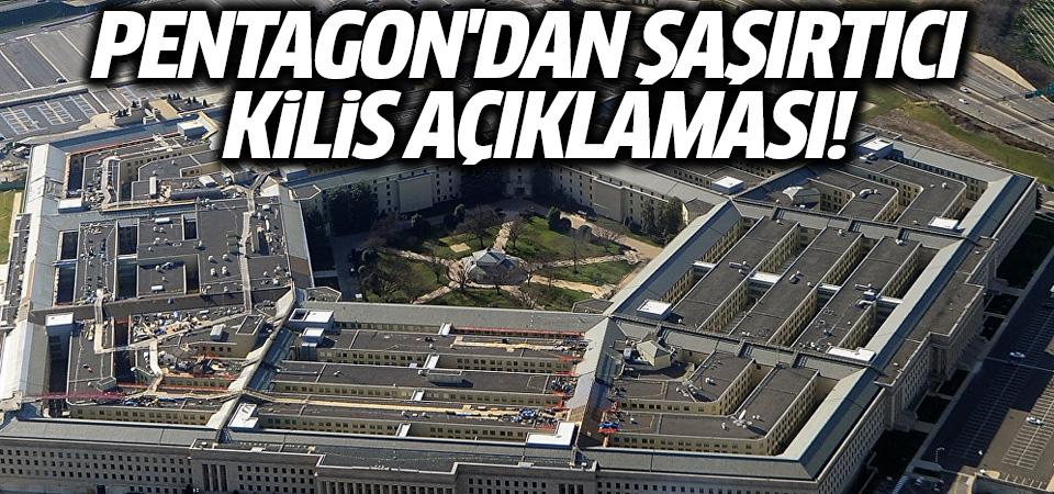 Pentagon'dan Kilis açıklaması