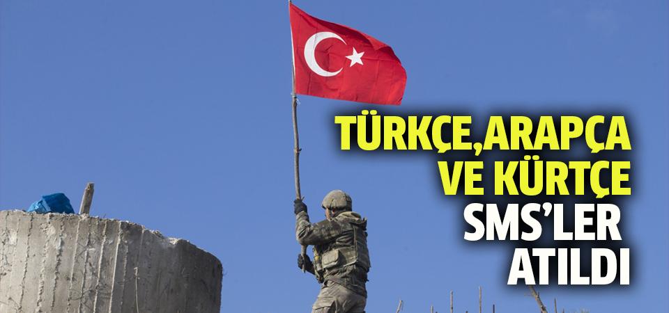 TSK'dan Afrinliler'e 'mesaj' sürprizi!