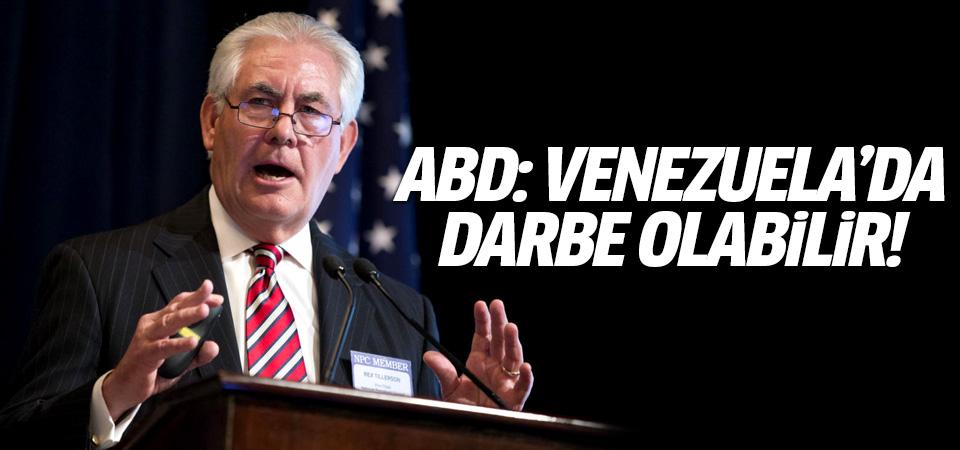 ABD Dışişleri Bakanı: Venezuela'da darbe olabilir
