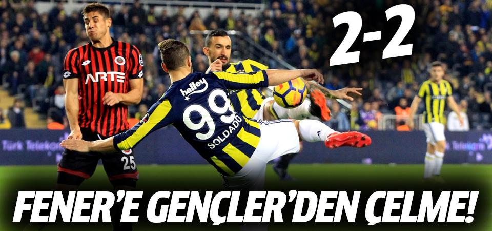 Gençlerbirliği'nden Fenerbahçe'ye çelme! 2-2