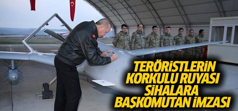 Cumhurbaşkanı SİHA'yı imzaladı