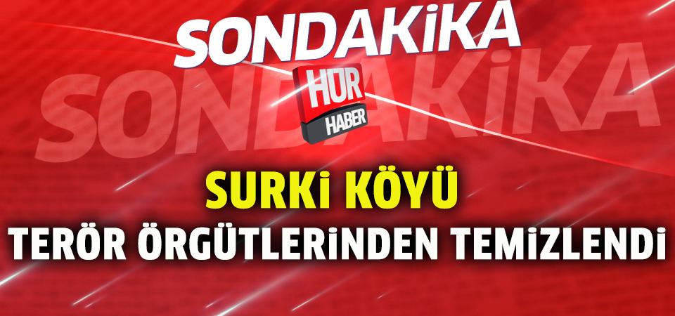 Surki köyü terör örgütü PYD/PKK'dan temizlendi