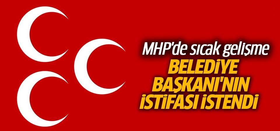 MHP Genel Merkezi, Kars Belediye Başkanı'nın istifasını istedi