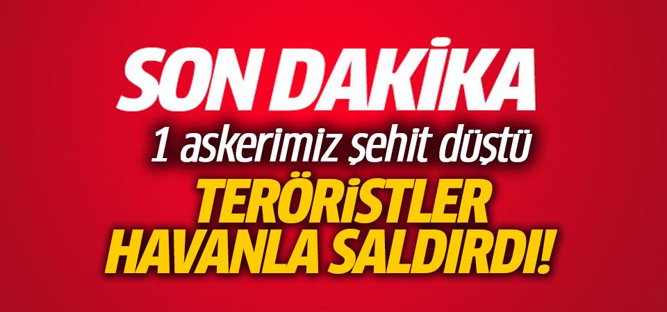 Zeytin Dalı Harekatı'nda 1 askerimiz şehit oldu