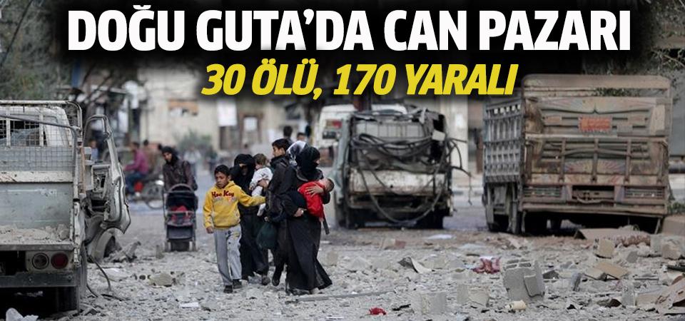 Doğu Guta'da can pazarı: 30 ölü