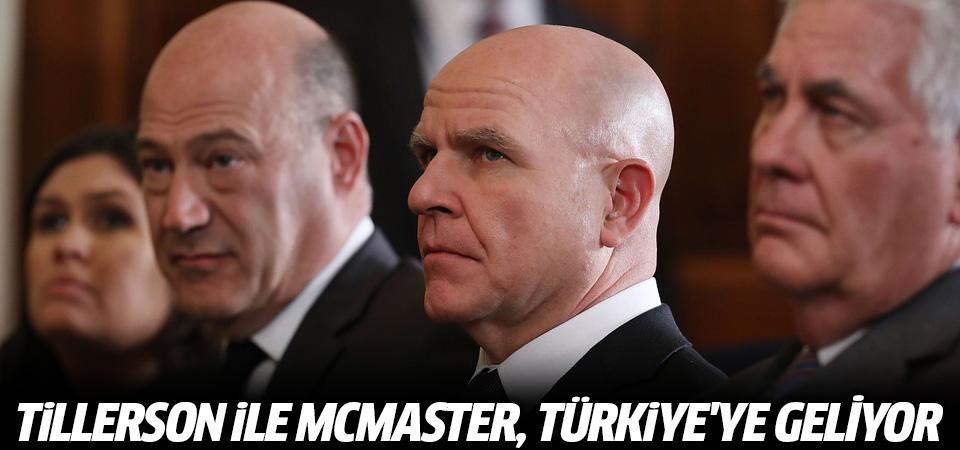 Tillerson ile McMaster, Türkiye'ye geliyor