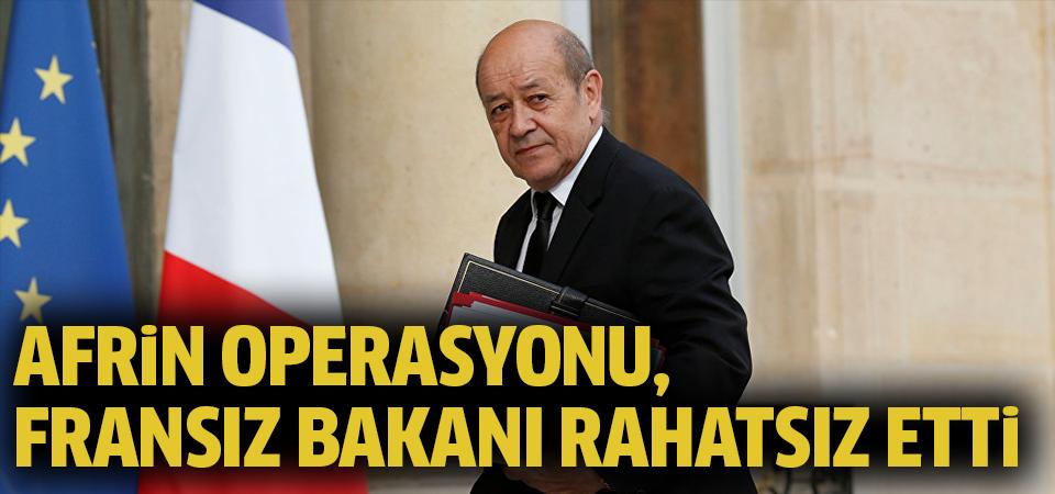 Fransız bakandan Afrin açıklaması!