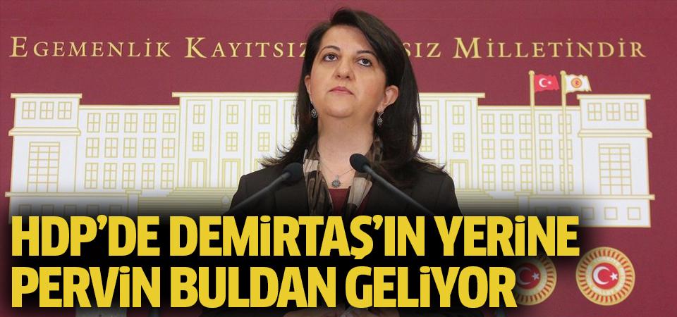 HDP'de Demirtaş'ın yerine Buldan geliyor
