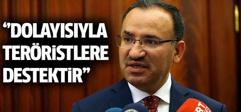 'Afrin'e girilmesini doğru bulmuyorum' açıklaması, teröristlere destektir