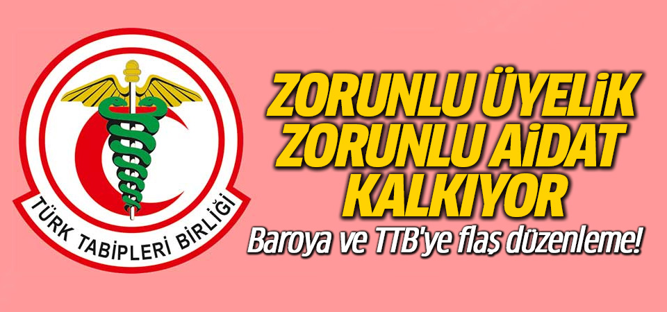 Türkiye düşmanı odalara üye olma zorunluluğu kaldırılıyor