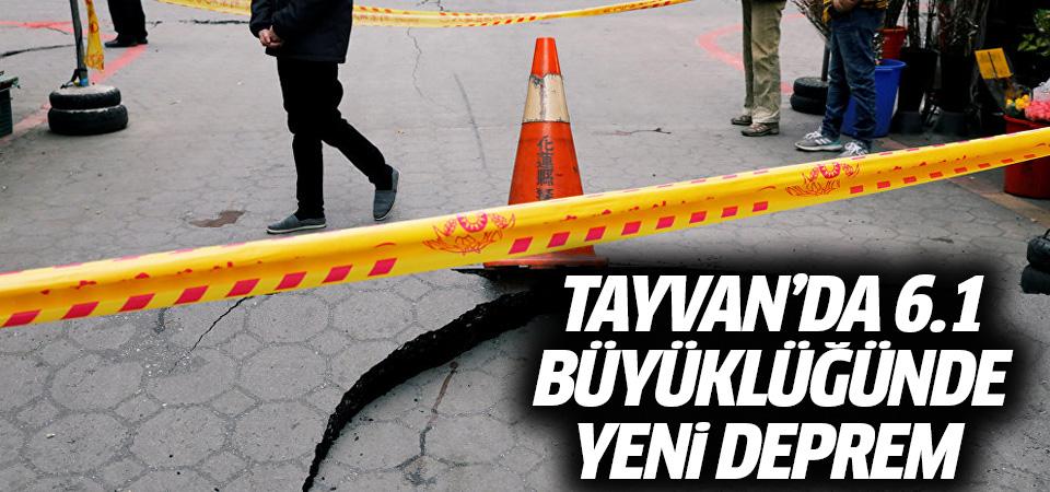 Tayvan'da 6.1 büyüklüğünde yeni deprem