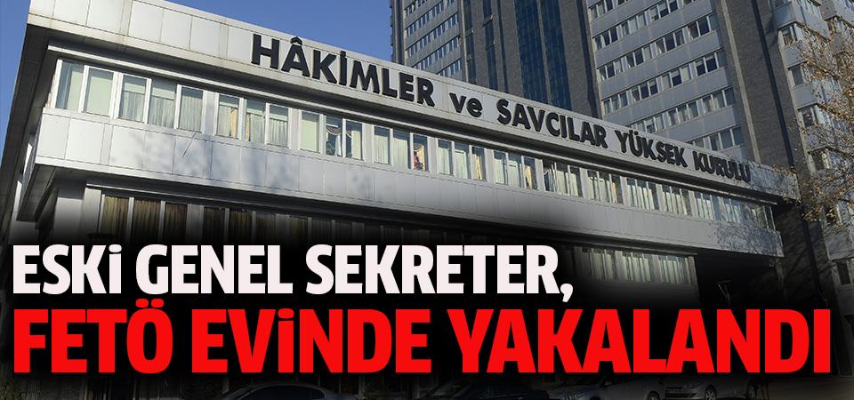 Eski HSYK Genel Sekreteri Mehmet Kaya yakalandı