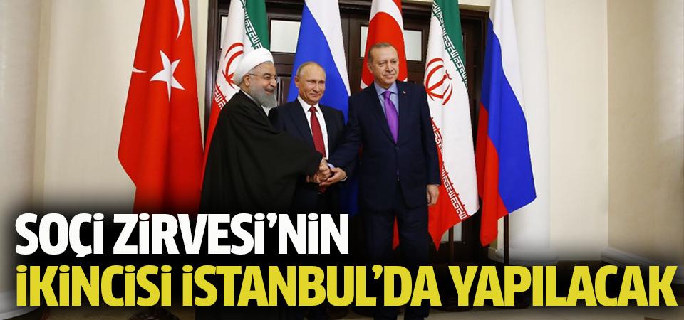 Soçi Zirvesi'nin ikincisi İstanbul'da yapılacak