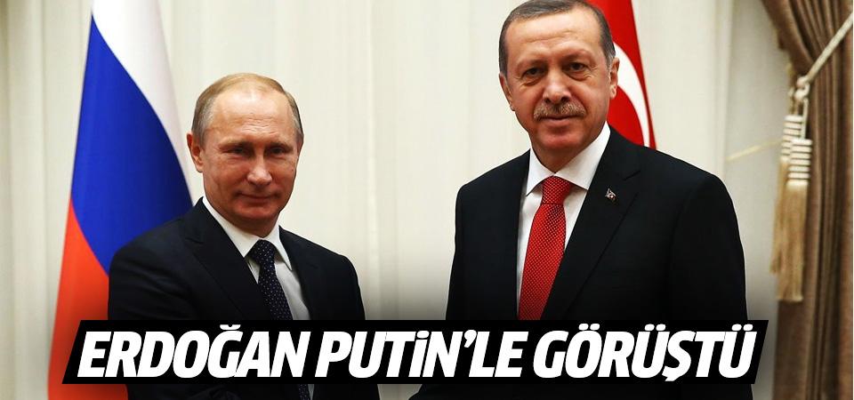 Erdoğan ile Putin arasında Afrin görüşmesi