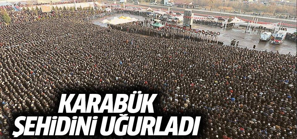 Şehit Ömer Bilal Akpınar son yolculuğuna uğurlandı
