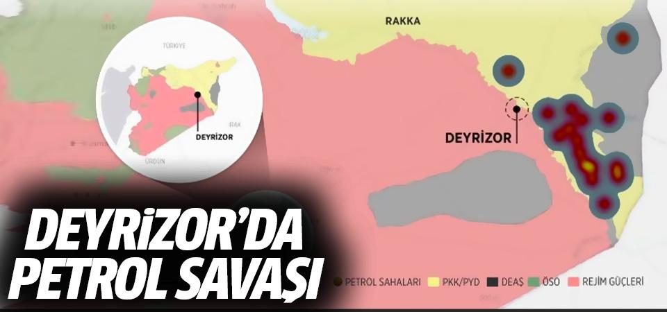 PYD Suriye'deki petrol yataklarını işgal etti