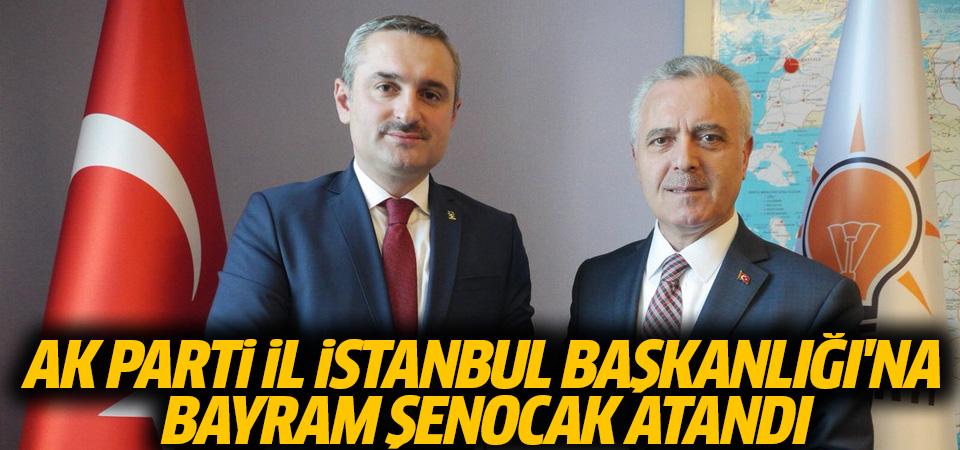 AK Parti İstanbul İl Başkanlığı'na Şenocak atandı