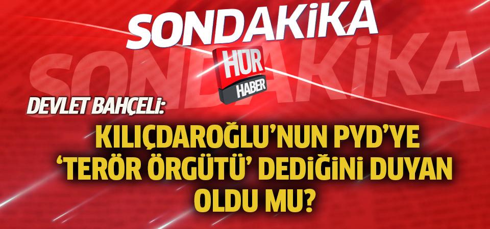 MHP Genel Başkanı Devlet Bahçeli: Bölgemiz çok vahim gelişmelere gebedir