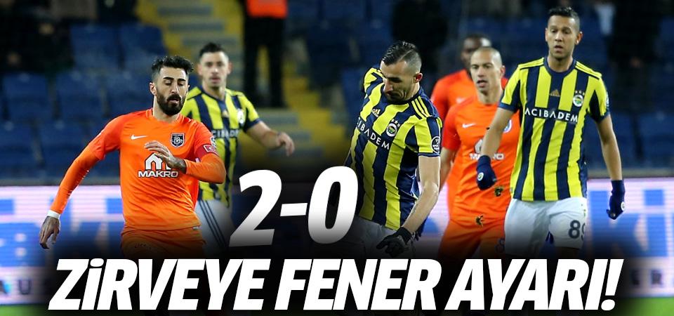Zirveye Fenerbahçe ayarı! 2-0