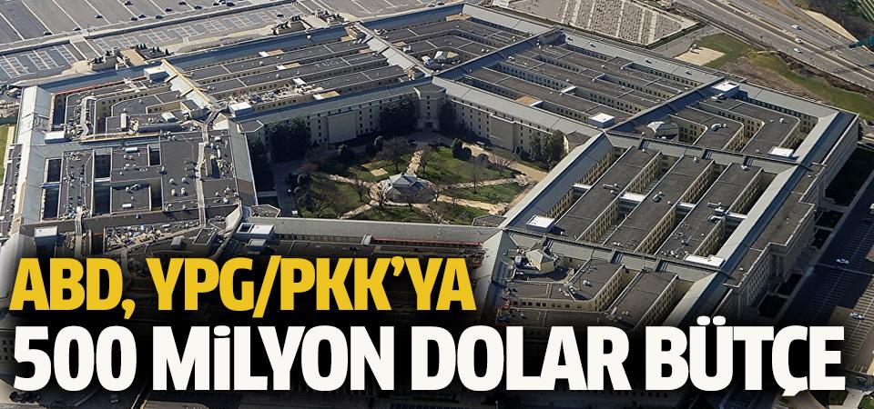 Pentagon'un terör örgütü YPG/PKK'ya ayırdığı bütçe 500 milyon dolar