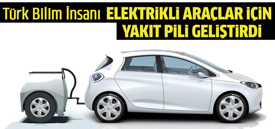 Türk Bilim İnsanı, Elektrikli Araçların 5 Dakikalık Şarj ile 480 KM Yol Katedebileceği Yakıt Pili Geliştirdi