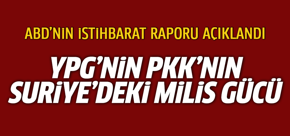 ABD istihbarat raporu: YPG, PKK'nın Suriye'deki milis gücü ve otonom bölge arayışında