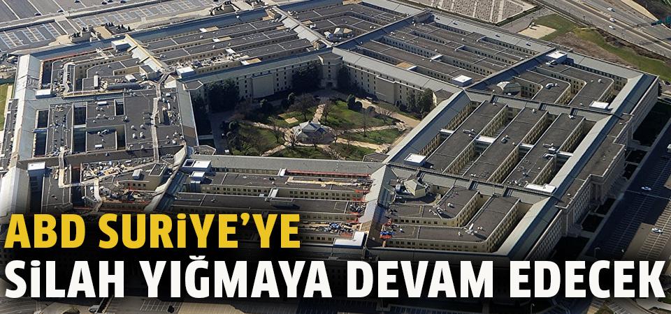 ABD Suriye'ye silah yığmaya devam edecek