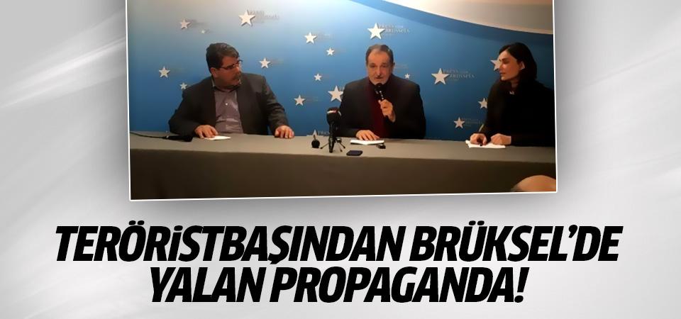 Terörist Salih Müslim'den AB merkezinde yalan propaganda