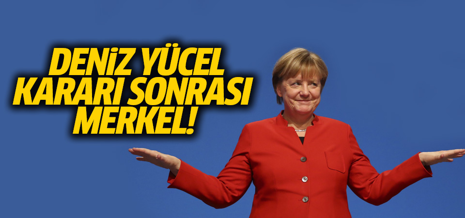 Merkel: Deniz Yücel kararına sevindim