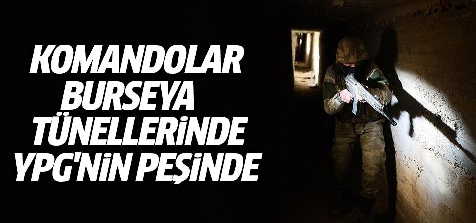 Mehmetçik teröristleri inlerinde arıyor