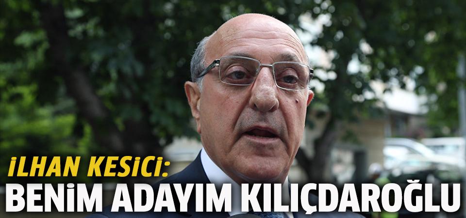 CHP'nin cumhurbaşkanı adayı olacağı konuşulan Kesici: Benim adayım Kılıçdaroğlu