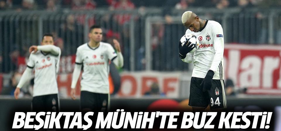 Bayern Münih-Beşiktaş maçı golleri ve geniş özeti