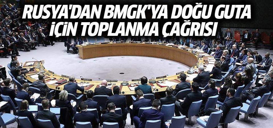 Rusya, BMGK'yı Doğu Guta'yı görüşmek için toplantıya çağırdı