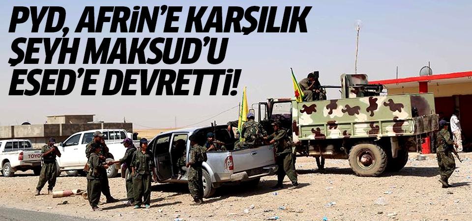 'PYD, Afrin'e karşılık Şeyh Maksud'u Esed rejimine devretti' iddiası