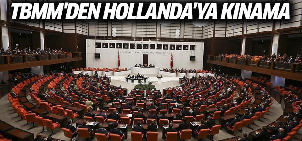 TBMM Başkanlığından Hollanda'nın 'Ermeni Soykırımı' kararına tepki